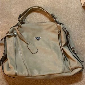 Handbags - Grey shoulder bag